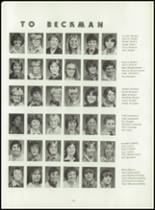 1980 Beckman High School Yearbook Page 114 & 115