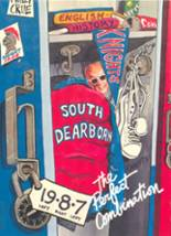 1987 Yearbook South Dearborn High School