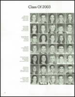 2002 Washington Township High School Yearbook Page 168 & 169