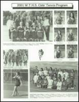 2002 Washington Township High School Yearbook Page 232 & 233