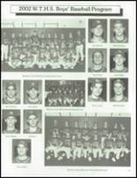 2002 Washington Township High School Yearbook Page 246 & 247