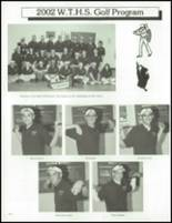 2002 Washington Township High School Yearbook Page 254 & 255