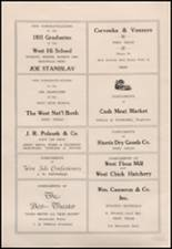1935 West High School Yearbook Page 16 & 17