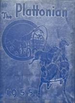 1955 Yearbook Plattsmouth High School