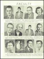 1954 Ft. Benton High School Yearbook Page 10 & 11