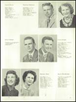 1954 Ft. Benton High School Yearbook Page 14 & 15