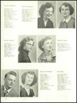 1954 Ft. Benton High School Yearbook Page 16 & 17