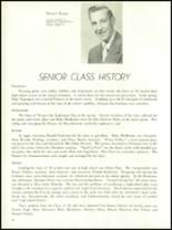 1954 Ft. Benton High School Yearbook Page 18 & 19
