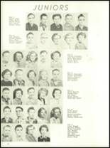 1954 Ft. Benton High School Yearbook Page 20 & 21