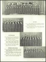 1954 Ft. Benton High School Yearbook Page 50 & 51