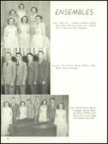 1954 Ft. Benton High School Yearbook Page 54 & 55