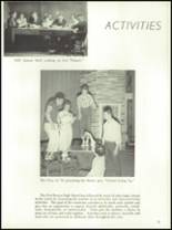 1954 Ft. Benton High School Yearbook Page 56 & 57