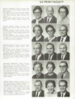 1965 Penn High School Yearbook Page 152 & 153
