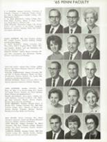 1965 Penn High School Yearbook Page 154 & 155