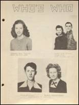 1947 Taylor County High School Yearbook Page 14 & 15