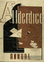 1941 Yearbook Allderdice High School
