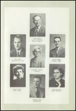 1950 Logan High School Yearbook Page 10 & 11