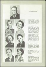 1950 Logan High School Yearbook Page 16 & 17