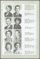 1950 Logan High School Yearbook Page 18 & 19