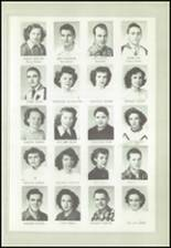 1950 Logan High School Yearbook Page 32 & 33
