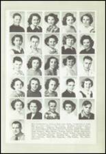 1950 Logan High School Yearbook Page 36 & 37