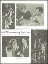 1967 Center Grove High School Yearbook Page 12 & 13