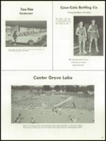 1967 Center Grove High School Yearbook Page 132 & 133