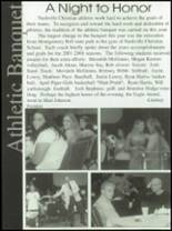 2000 Nashville Christian High School Yearbook Page 108 & 109