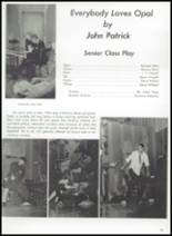 1965 W.F. West High School Yearbook Page 34 & 35