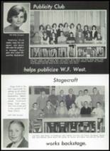 1965 W.F. West High School Yearbook Page 48 & 49