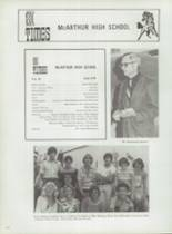 1978 McArthur High School Yearbook Page 232 & 233
