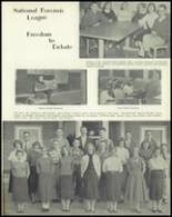 1957 Jackson High School Yearbook Page 70 & 71