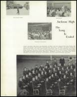 1957 Jackson High School Yearbook Page 76 & 77
