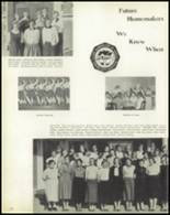 1957 Jackson High School Yearbook Page 82 & 83