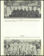1957 Jackson High School Yearbook Page 110 & 111
