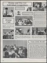 1991 Hillsdale High School Yearbook Page 70 & 71