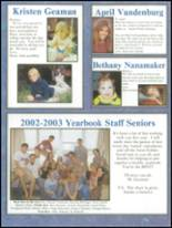 2003 Findlay High School Yearbook Page 234 & 235