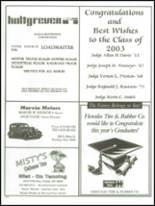 2003 Findlay High School Yearbook Page 250 & 251