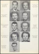 1954 Clyde High School Yearbook Page 12 & 13