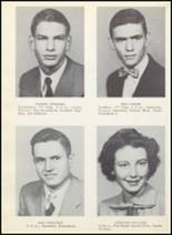 1954 Clyde High School Yearbook Page 20 & 21