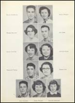 1954 Clyde High School Yearbook Page 26 & 27