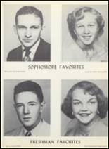 1954 Clyde High School Yearbook Page 44 & 45