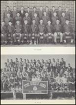 1954 Clyde High School Yearbook Page 50 & 51