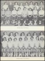 1954 Clyde High School Yearbook Page 64 & 65
