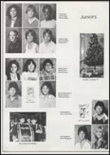 1982 Eufaula High School Yearbook Page 54 & 55