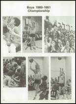 1981 Gateway Regional High School Yearbook Page 134 & 135