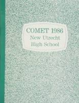 1986 Yearbook New Utrecht High School