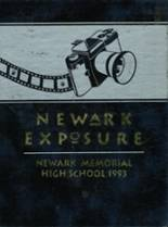 1993 Yearbook Newark Memorial High School