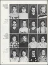 1989 Minco High School Yearbook Page 28 & 29