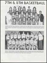 1989 Minco High School Yearbook Page 80 & 81